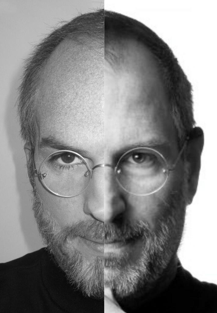 Kutcher e Jobs