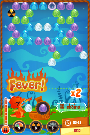 Bubble Dragon para iOS - screenshot 1