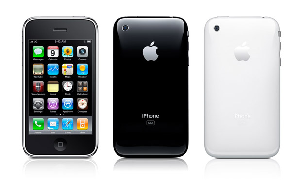 iPhone 3GS (preto e branco)