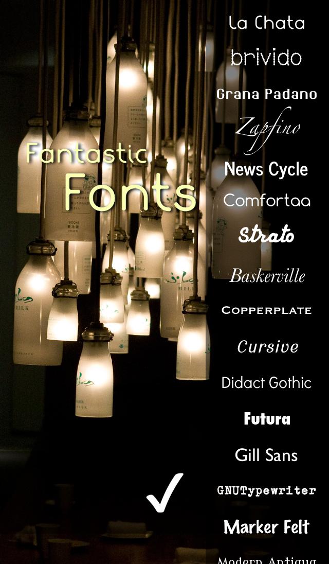 Font-astic