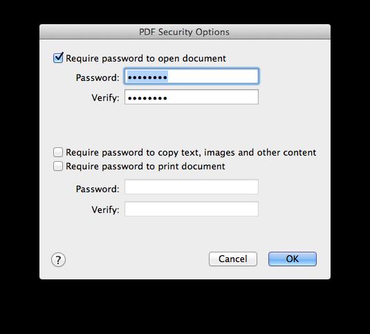Criptografia em PDF