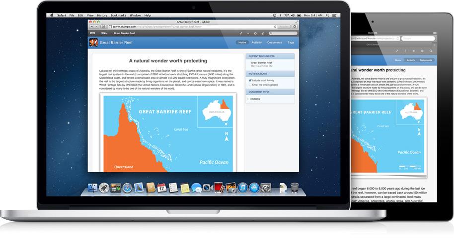 OS X Server - Wiki Server