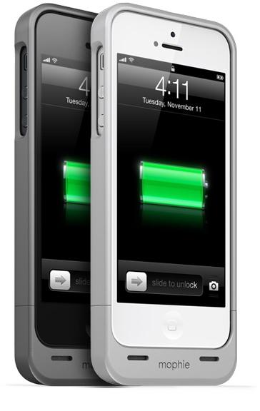 mophie - mophie juice pack helium - iPhone 5