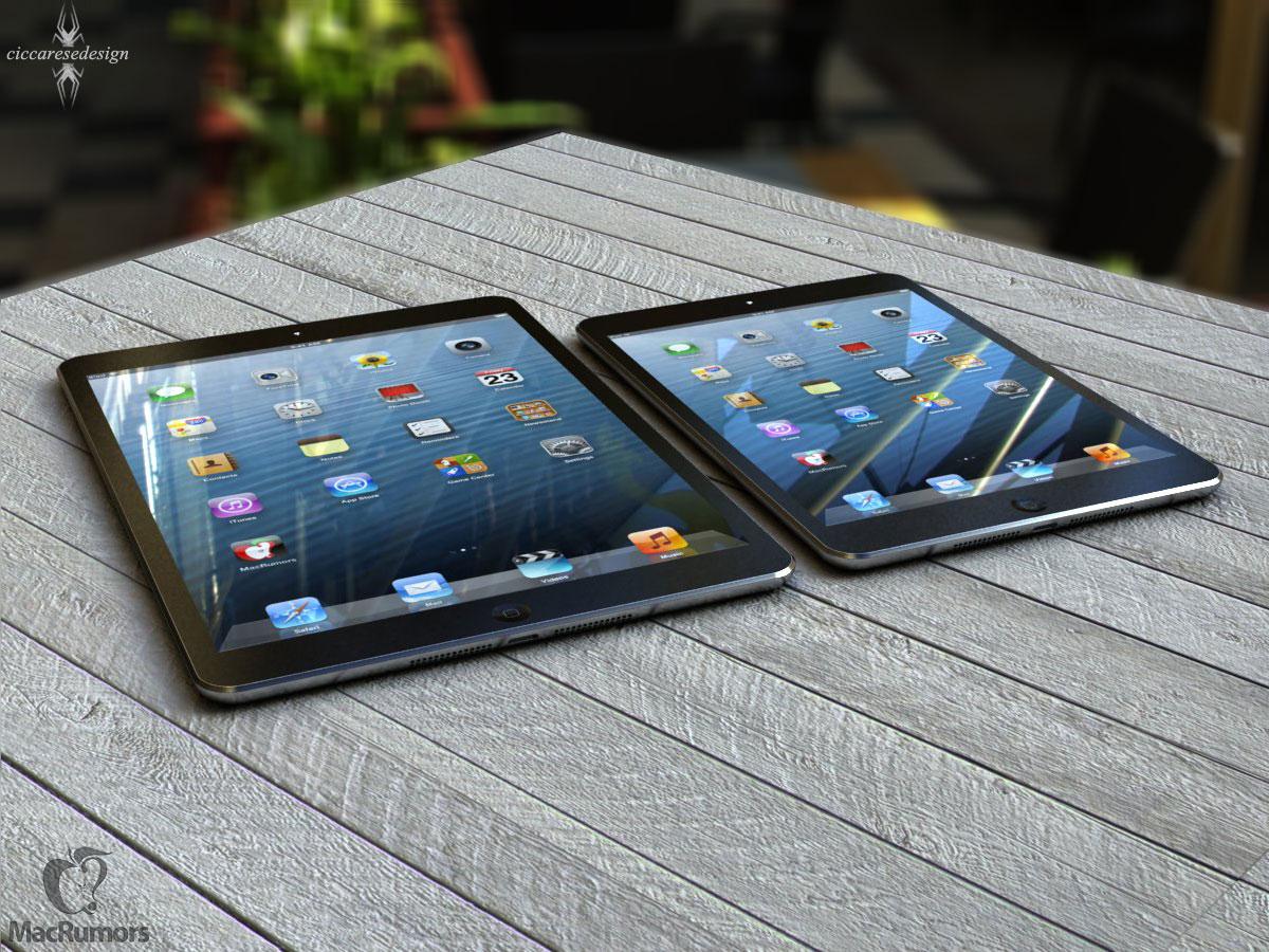 Mockup realista de iPad de quinta geração