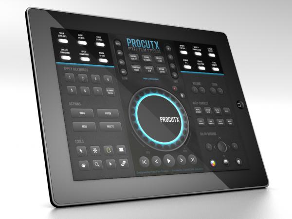 ProCutX no iPad