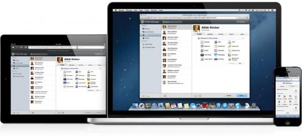 Portal Profile Manager em Macs e iGadgets