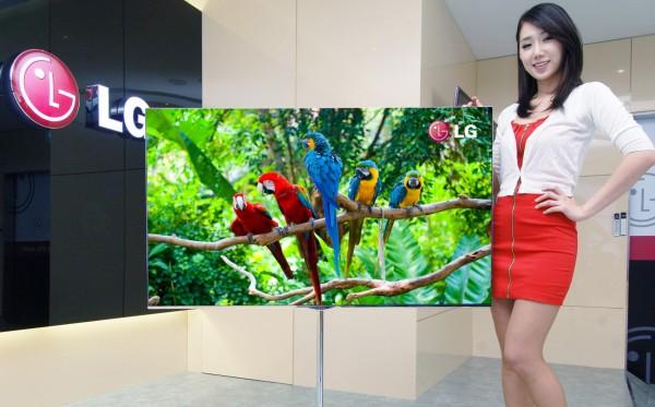 Televisão de OLED da LG Display
