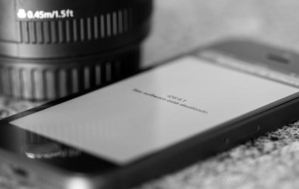 iOS 6.1 atualizado num iPhone 5 (by MacMagazine)