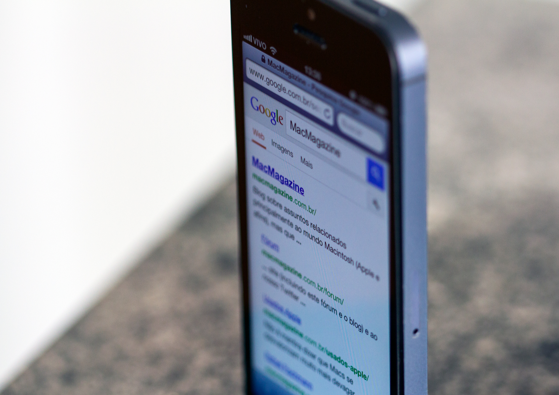 Google no iPhone com o MacMagazine