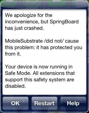 Springboard Crashed