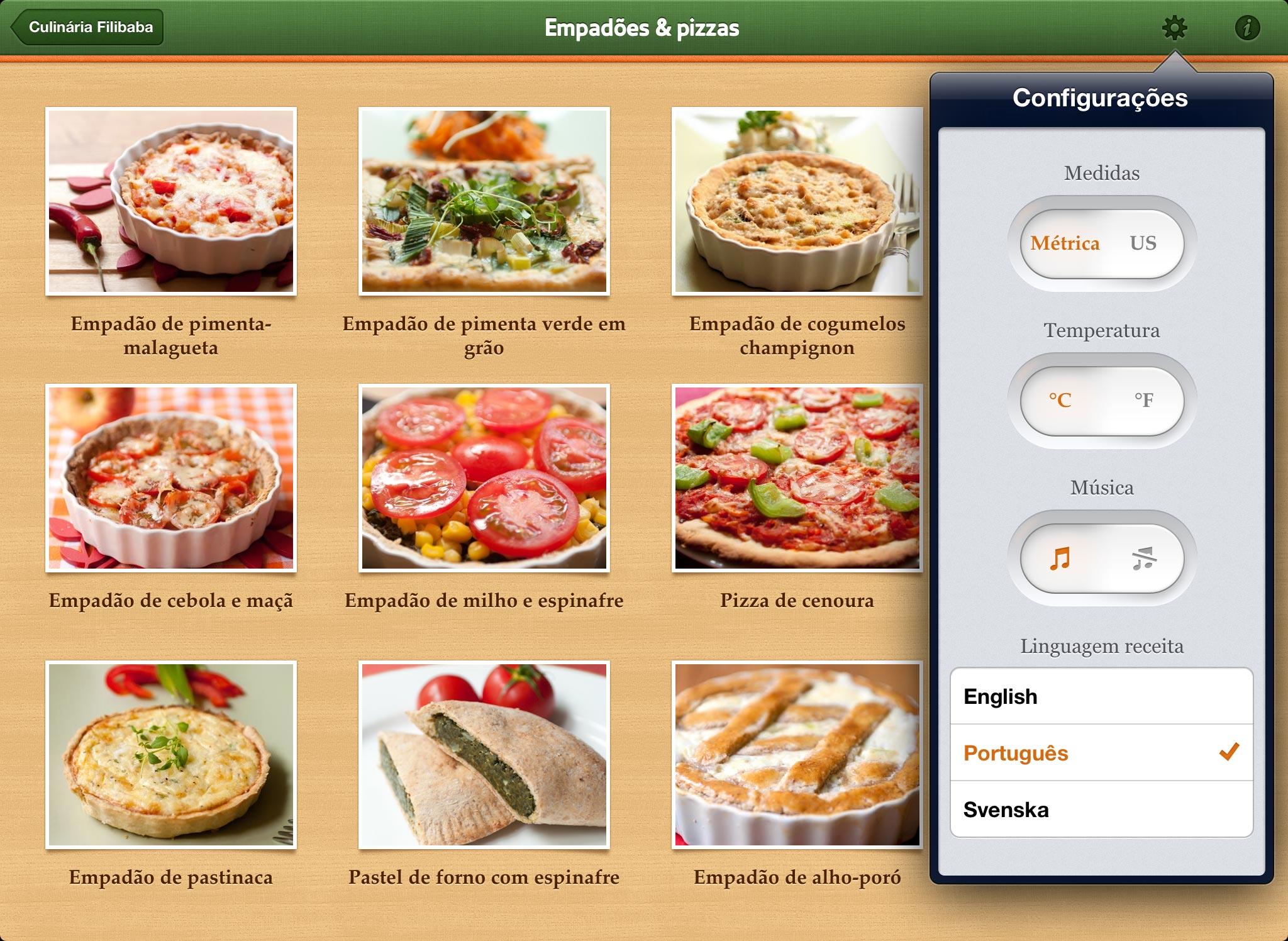 Culinária Filibaba em iGadgets