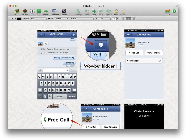 Napkin - Mac OS X