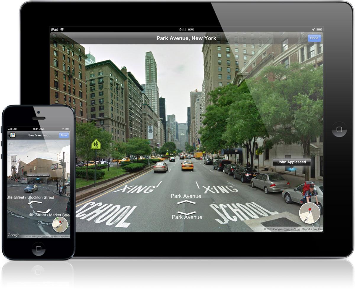 Street View - iPad e iPhone