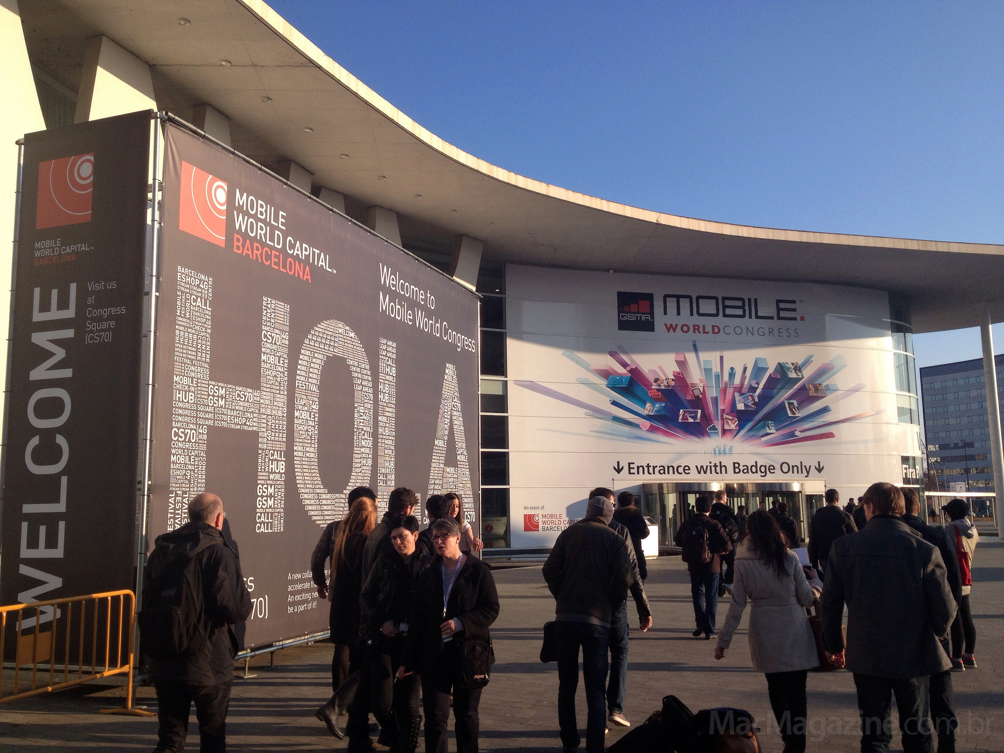 MacMagazine no Mobile World Congress 2013