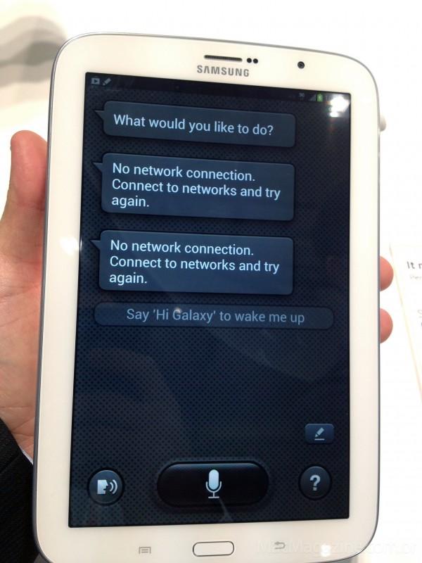 MacMagazine no Mobile World Congress 2013 - Samsung Galaxy Note 8.0