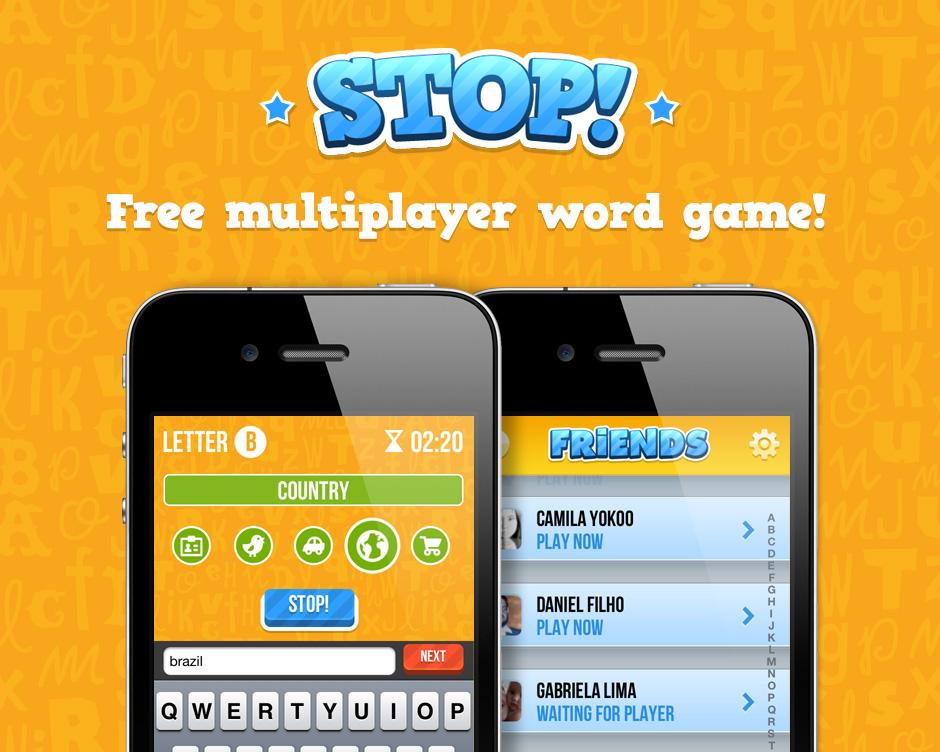 Jogo Stop! para iPhones/iPods touch