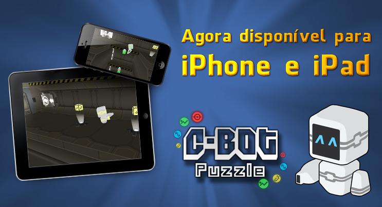 Banner do jogo C-Bot Puzzle