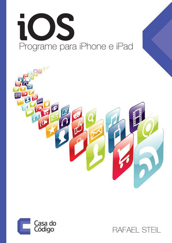 "Capa do livro ""iOS - Programe para iPhone e iPad"""
