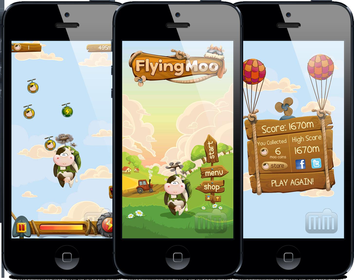 FlyingMoo - iPhones