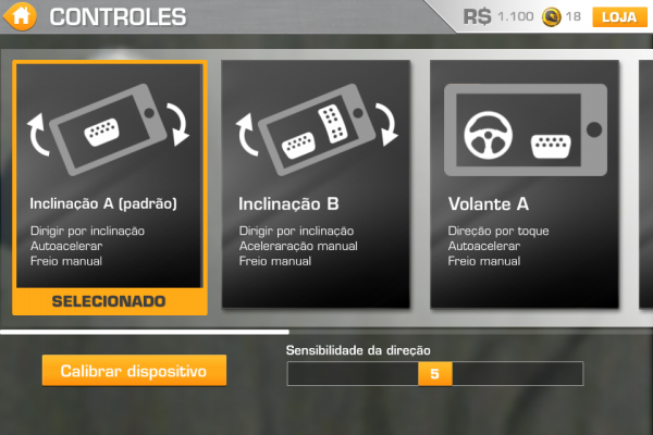 Real Racing 3 - Controles