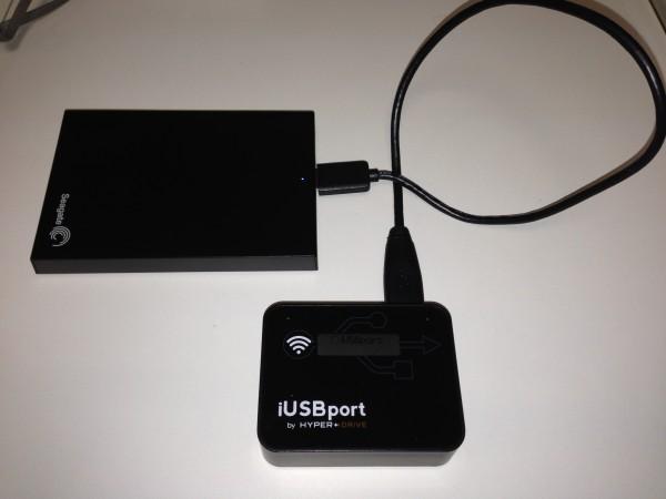 iUSBport e HD