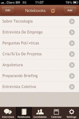 Interview Recorder para iOS - screenshot 2