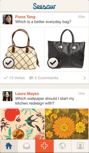 Seesaw para iOS - screenshot 1