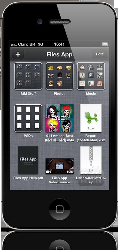Files App no iPhone 4S
