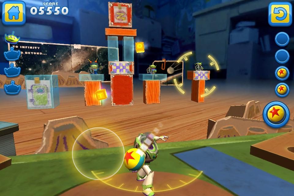 Screenshot do jogo Toy Story: Smash It!