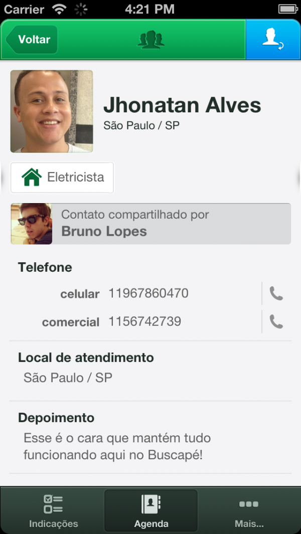 Recomind - iPhone