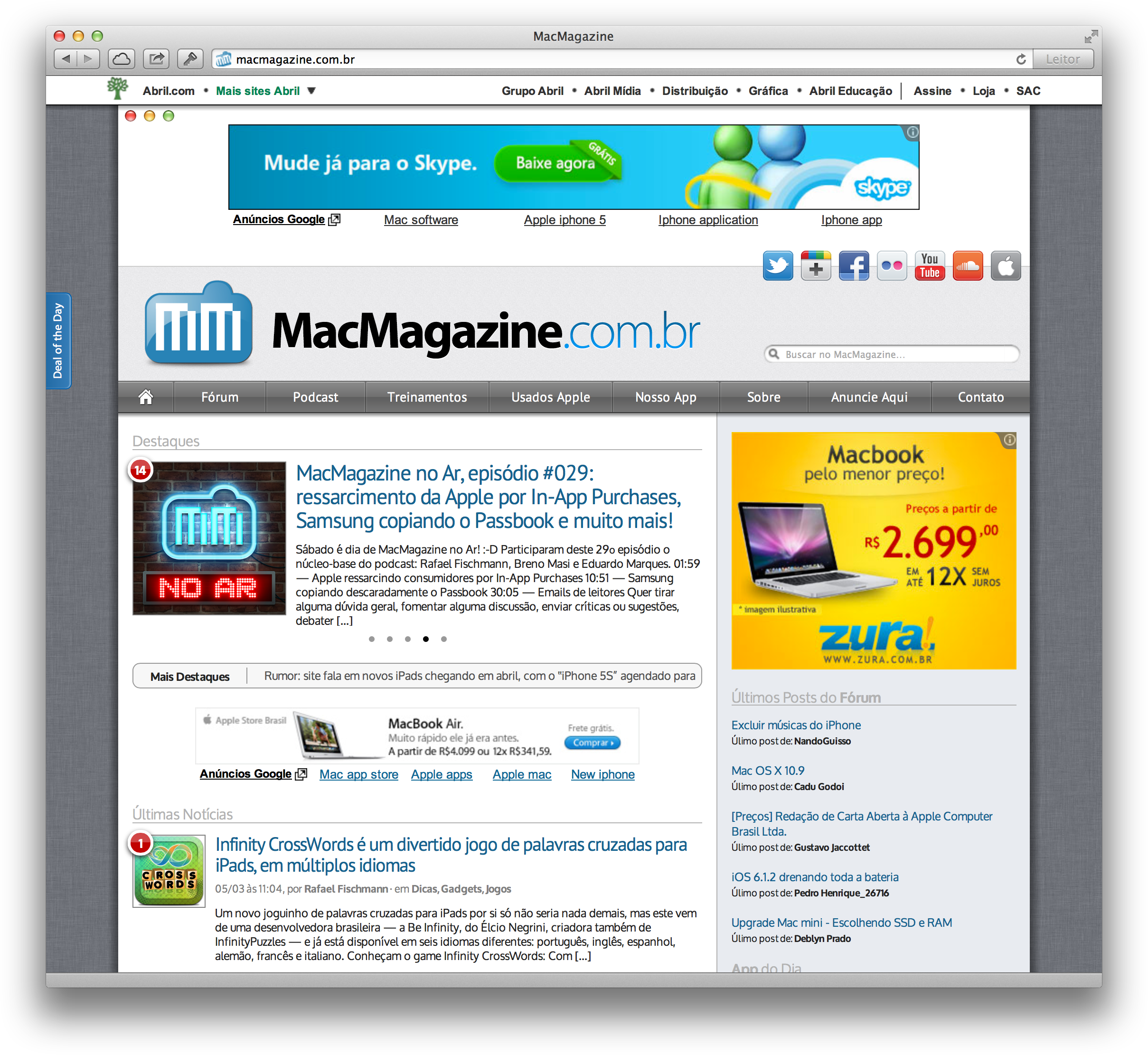 MacMagazine Retinizado