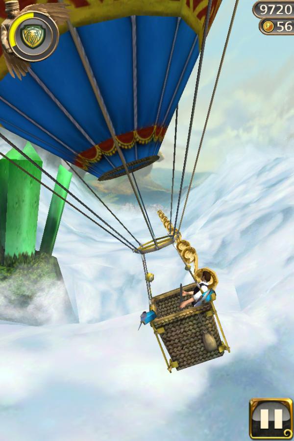 Screenshot de Temple Run: Oz para iOS