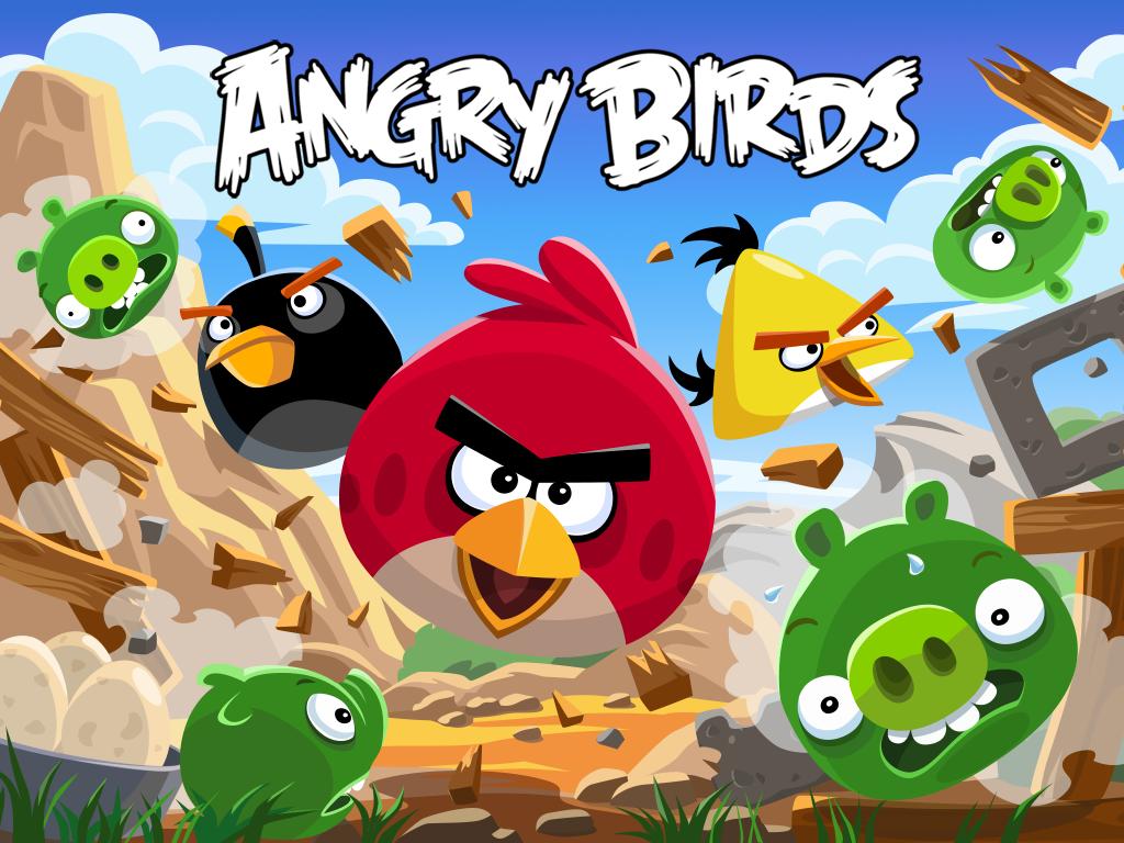 Banner de Angry Birds