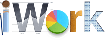 Logo - iWork para iOS