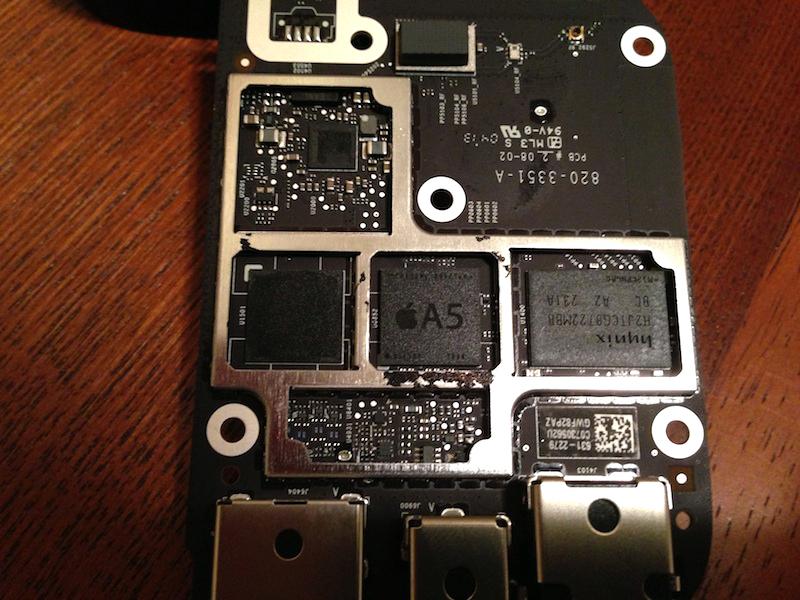 Apple TV com chip A5