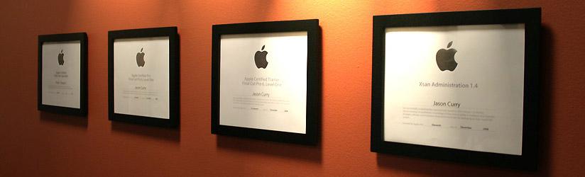 Certificações Apple