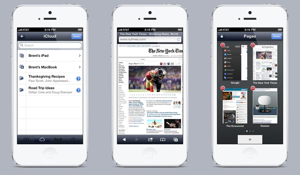 Melhorias pro Mobile Safari