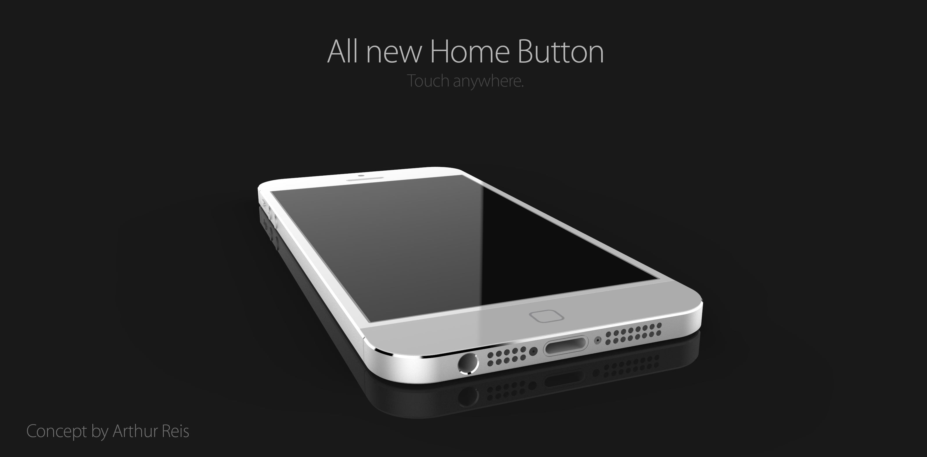 Mockup do iPhone 6 - por Arthur Reis