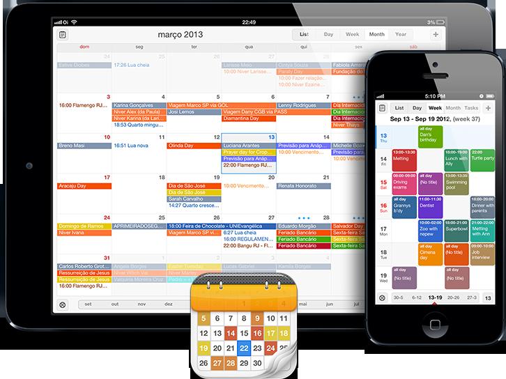 Teaser do app Calendars