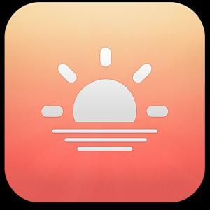 Ícone do app Sunrise