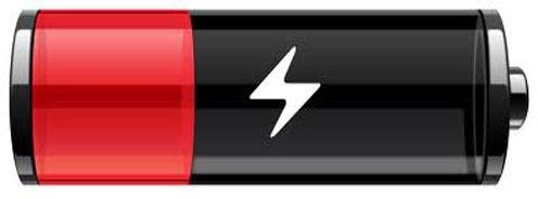 Ícone de bateria