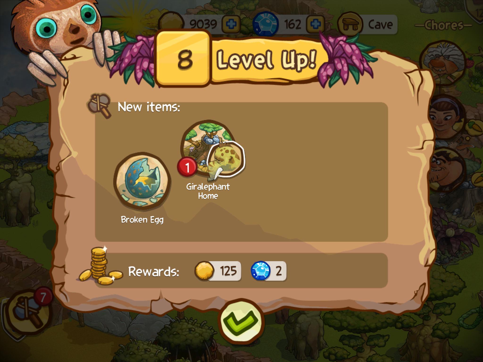 Screenshot do jogo The Croods