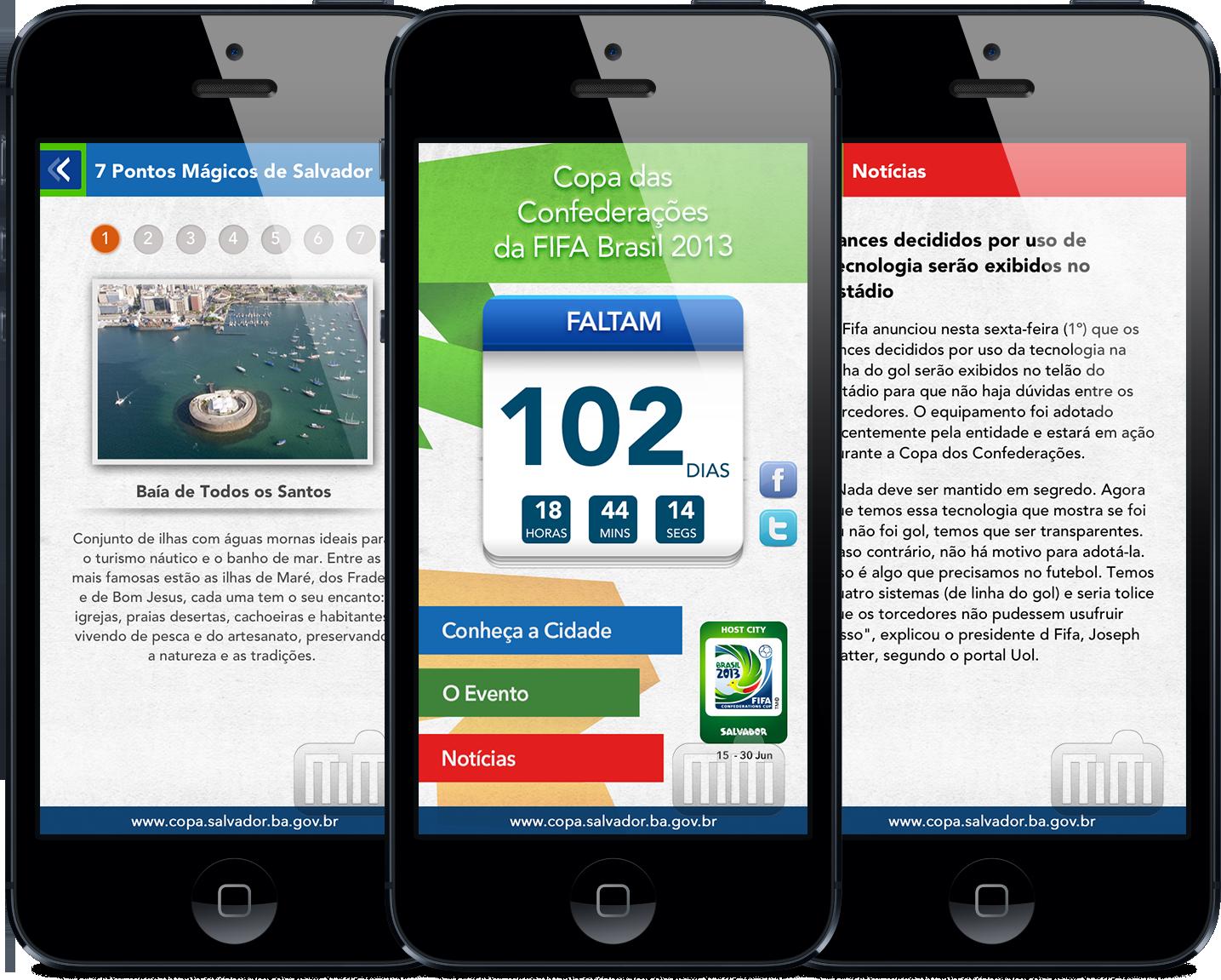Salvador Cidade Sede - iPhones