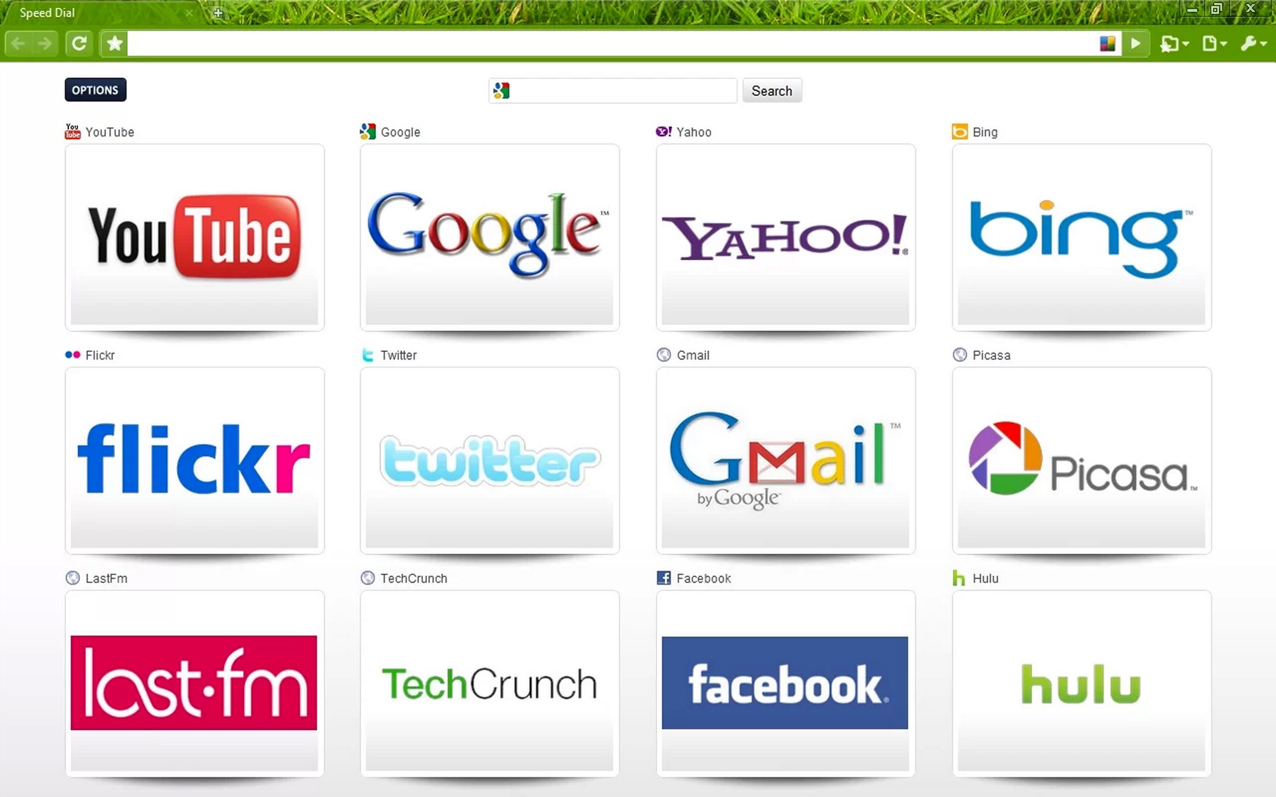 Speed Dial no Google Chrome