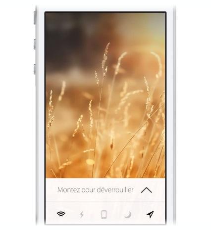 Conceito para o iOS 7