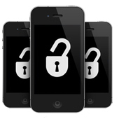iPhones com cadeado