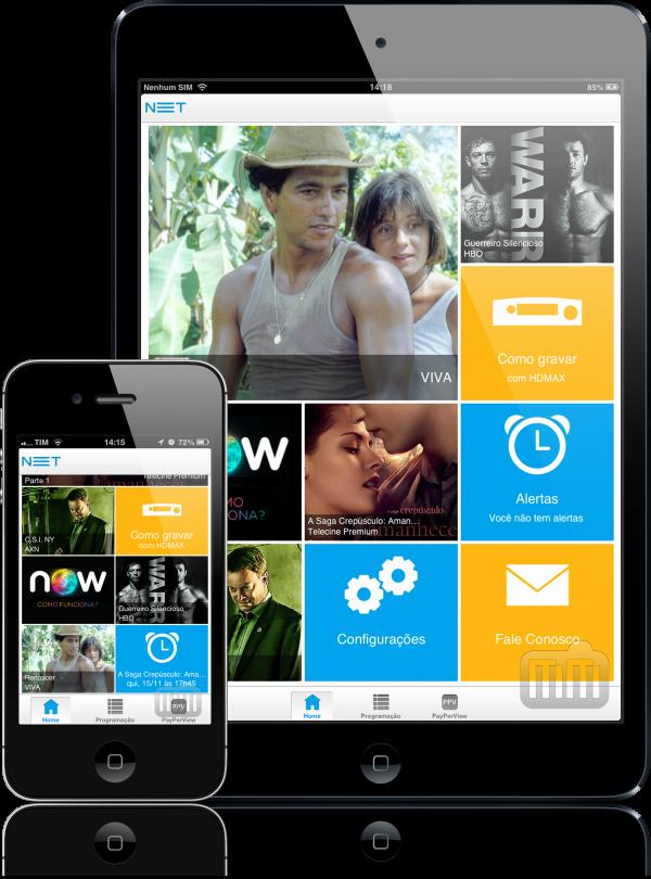 NET App - iPad e iPhone