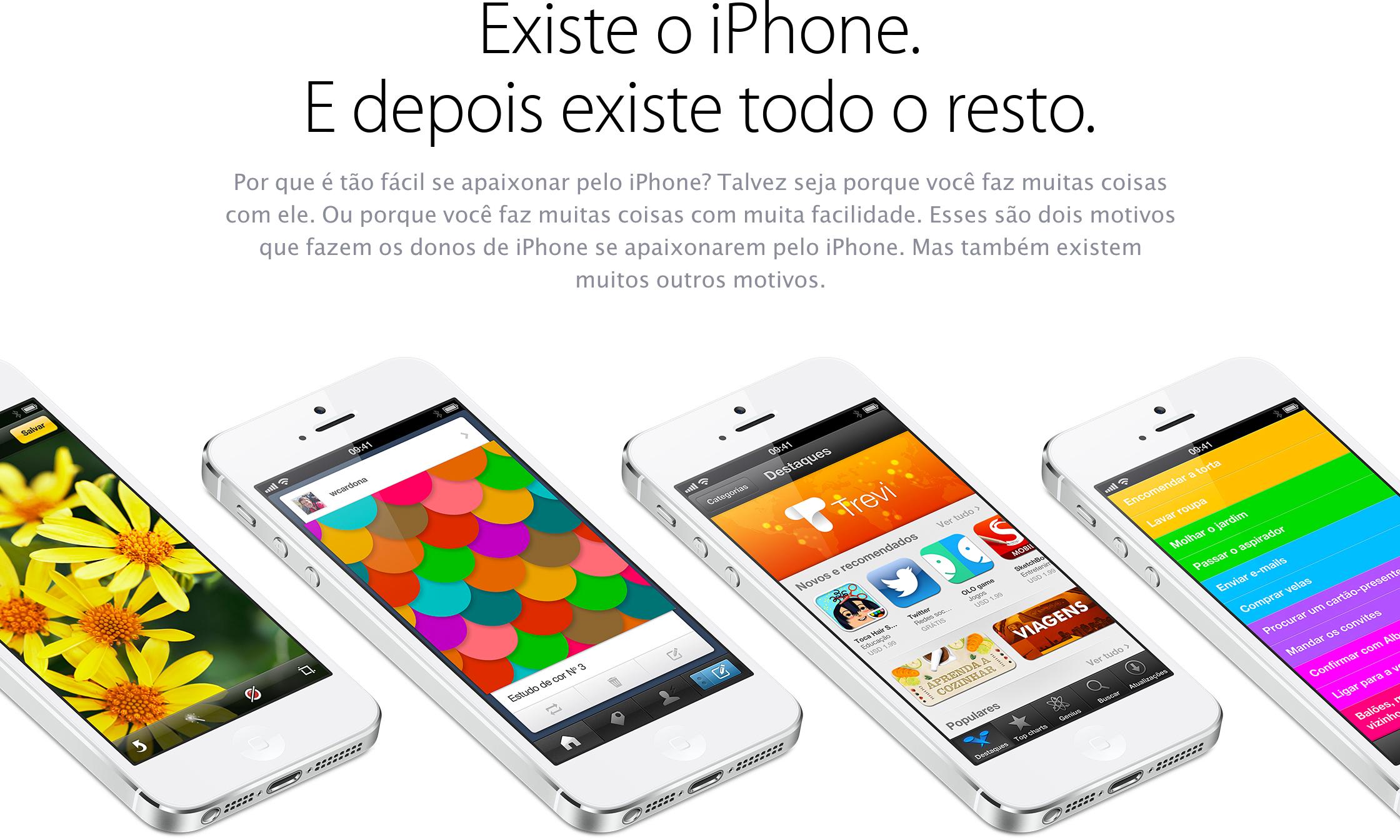Apple - Existe o iPhone. E depois existe todo o resto.