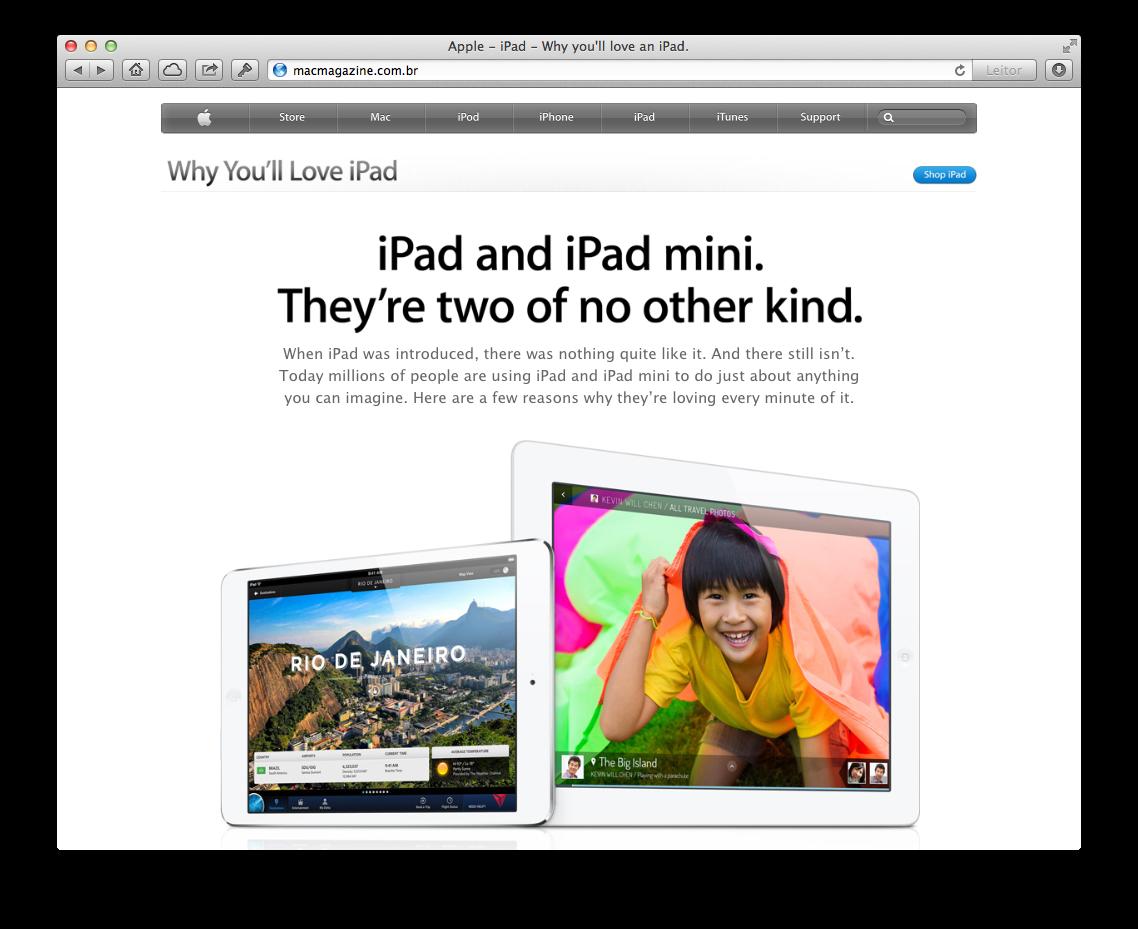 Campanha - Por que iPad