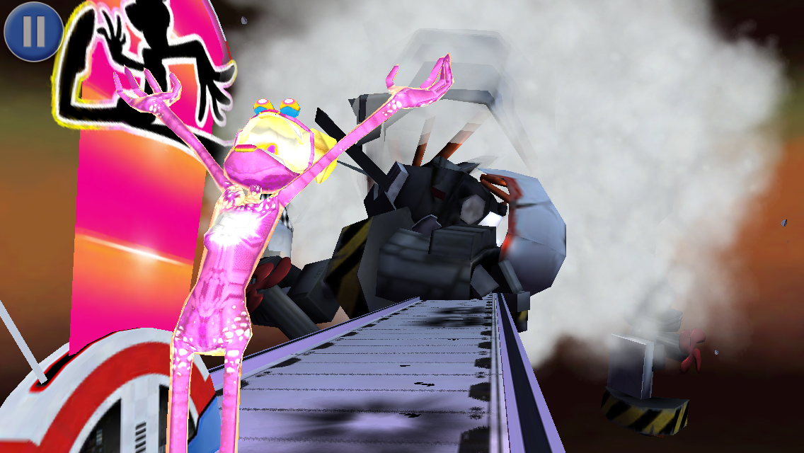 Screenshot do jogo Ms. Splosion Man